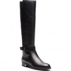 Oficerki TORY BURCH - Brooke 25mm Knee Boot 51529 Perfect Black 006. Czarne buty zimowe damskie Tory Burch, z materiału, przed kolano, na wysokim obcasie. Za 2099,00 zł.