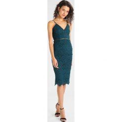 Sukienki: Missguided LADDER DETAIL MIDI DRESS Sukienka letnia green