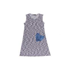 Sukienki: Sukienka damska luźna, z kieszonką we wzory
