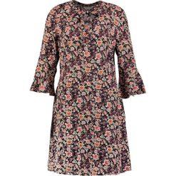 NAF NAF LAMIE Sukienka letnia multi coloured. Szare sukienki letnie marki BE, s, z nadrukiem, eleganckie, z klasycznym kołnierzykiem. Za 379,00 zł.