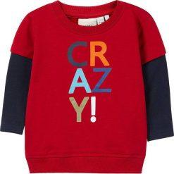 """Bluzy niemowlęce: Bluza """"Olli"""" w kolorze czerwonym"""