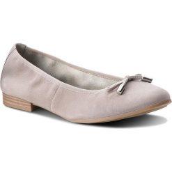 Baleriny S.OLIVER - 5-22112-20 Lt Grey 210. Szare baleriny damskie zamszowe marki S.Oliver. W wyprzedaży za 169,00 zł.