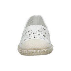 Espadryle Casu  Białe espadryle slip on ażurowe  DD1831-2. Białe tenisówki damskie Casu, w ażurowe wzory. Za 49,99 zł.