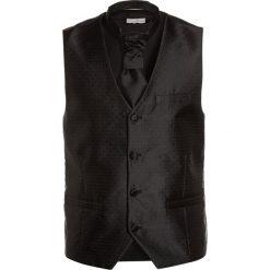 Next WEDDING WAISTCOAT SET  Kamizelka black. Czarne kamizelki dziewczęce marki bonprix. Za 149,00 zł.