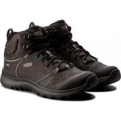 Buty trekkingowe damskie: Keen Buty damskie Terradora Mid WP czarne r. 38 (TERRADMW-WN-RVRD)