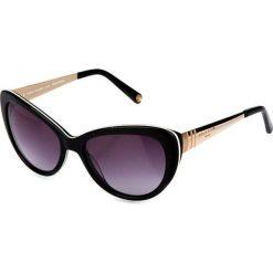 """Okulary przeciwsłoneczne damskie aviatory: Okulary przeciwsłoneczne """"SR773601"""" w kolorze czarnym"""