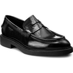 Mokasyny VAGABOND - Alex M 4466-204-20 Black. Czarne mokasyny męskie Vagabond, z materiału. W wyprzedaży za 419,00 zł.