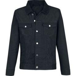 Forplay Klett Jeansjacke Kurtka jeansowa czarny. Niebieskie kurtki męskie jeansowe marki Reserved, l. Za 121,90 zł.