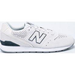 New Balance - Buty. Szare halówki męskie New Balance, z gumy. W wyprzedaży za 199,90 zł.