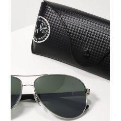 RayBan Okulary przeciwsłoneczne silver/crystal grey mirror. Szare okulary przeciwsłoneczne męskie wayfarery marki Ray-Ban, z materiału. Za 859,00 zł.