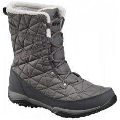 Columbia Śniegowce Loveland Mid Omni-Heat Quarry Black 39.5. Czarne śniegowce damskie marki Columbia, z syntetyku. W wyprzedaży za 329,00 zł.