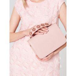 Torebki i plecaki damskie: Torebka z kwiatowym zdobieniem little princess – Różowy