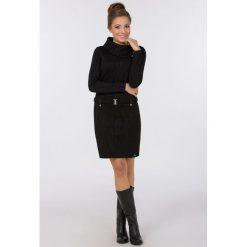 Sukienki: Sukienka w subtelne prążki
