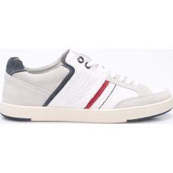 Levi's - Buty Beyers. Brązowe buty skate męskie marki Levi's®, z materiału, na sznurówki. W wyprzedaży za 269,90 zł.