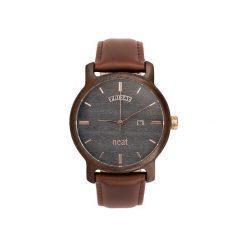 Drewniany zegarek męski Knight 43mm N082. Szare zegarki męskie Neatbrand. Za 599,00 zł.