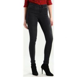 Rurki damskie: Noisy May NMJULIE  Jeans Skinny Fit black