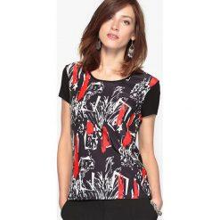 T-shirty damskie: T-shirt z nadrukiem, miękka dzianina