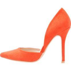 Szpilki: Glamorous Szpilki orange
