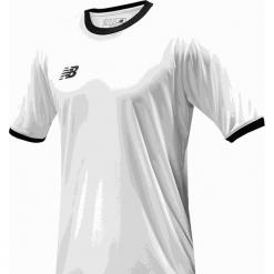 Koszulka treningowa - EMT6112WT. Szare koszulki do piłki nożnej męskie New Balance, na jesień, m, z materiału. Za 89,99 zł.