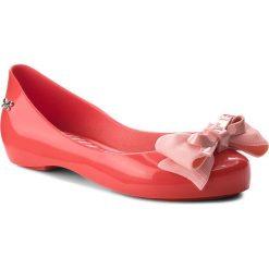 Baleriny ZAXY - Bow Kids 82545 Red 90069 BB385015 33478. Różowe baleriny dziewczęce marki Zaxy, z materiału. W wyprzedaży za 129,00 zł.
