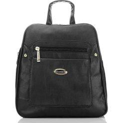 PLECAK DAMSKI BAG STREET. Czarne plecaki damskie marki Bag Street, ze skóry, street. Za 89,90 zł.