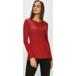 Tally Weijl - Bluzka. Czerwone bluzki z odkrytymi ramionami marki TALLY WEIJL, l, z dzianiny, z krótkim rękawem. Za 59,90 zł.