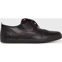 Camper - Buty. Czarne halówki męskie marki Camper, z gumy, na sznurówki. Za 529,90 zł.