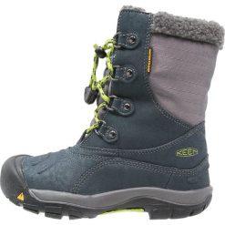 Keen BASIN WP Śniegowce midnight navy/macaw. Niebieskie buty zimowe damskie Keen, z gumy. W wyprzedaży za 284,25 zł.