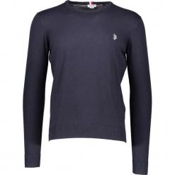 Sweter w kolorze granatowym. Niebieskie swetry klasyczne męskie marki GALVANNI, l, z okrągłym kołnierzem. W wyprzedaży za 217,95 zł.