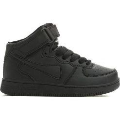 Czarne Buty Sportowe Easy Going. Czarne buty sportowe chłopięce marki Born2be, z materiału, z okrągłym noskiem, na sznurówki. Za 49,99 zł.