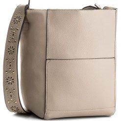 Torebka JENNY FAIRY - RC14089 Beżowy. Brązowe torebki klasyczne damskie Jenny Fairy, ze skóry ekologicznej, na ramię. Za 119,99 zł.