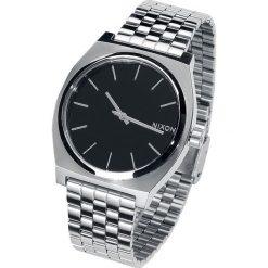 Nixon Time Teller - Black Zegarek na rękę srebrny/czarny. Czarne zegarki męskie Nixon, srebrne. Za 399,90 zł.