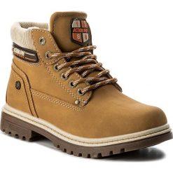 Buty zimowe chłopięce: Trapery ACTION BOY – CP07-16994-01 Miodowy