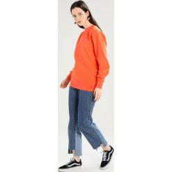 Bluzy damskie: Obey Clothing STATIC JUMBLE Bluza dusty orange