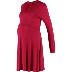 Sukienki hiszpanki: JoJo Maman Bébé Sukienka z dżerseju russet