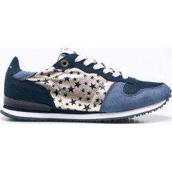 Pepe Jeans - Buty Gable Galactic. Szare buty sportowe damskie marki Pepe Jeans, z jeansu. W wyprzedaży za 159,90 zł.