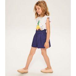 Odzież dziecięca: Bawełniane szorty - Granatowy