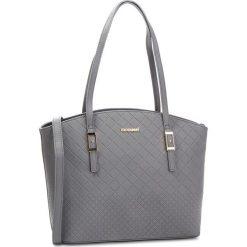 Torebka MONNARI - BAG9520-019 Grey. Brązowe torebki klasyczne damskie marki Monnari, w paski, z materiału, średnie. W wyprzedaży za 169,00 zł.