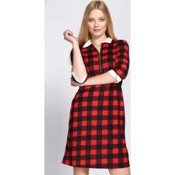 Czerwona Sukienka Everybody Does. Czerwone sukienki hiszpanki Born2be, l, mini, oversize. Za 49,99 zł.