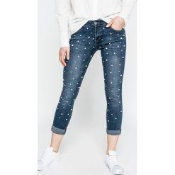 Haily's - Jeansy Katja. Niebieskie jeansy damskie rurki Haily's, z bawełny. W wyprzedaży za 119,90 zł.