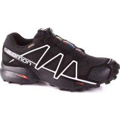 Salomon Buty męskie Speedcross 4 GTX Black/Black r. 46 2/3 (383181). Szare halówki męskie marki Salomon, z gore-texu, na sznurówki, outdoorowe, gore-tex. Za 699,00 zł.