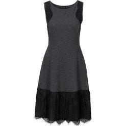 Sukienki hiszpanki: Sukienka dzianinowa bonprix szary melanż