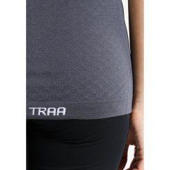 Topy sportowe damskie: KariTraa KRISTINA  Tshirt basic ebony