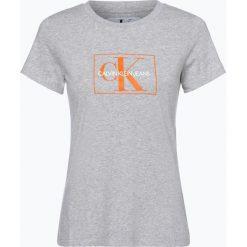 Calvin Klein Jeans - T-shirt damski, szary. Niebieskie t-shirty damskie marki Calvin Klein Jeans. Za 219,95 zł.