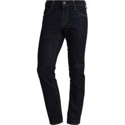 Mustang OREGON TAPERED  Jeansy Slim Fit rinsed washed. Czarne jeansy męskie relaxed fit marki Mustang, l, z bawełny, z kapturem. W wyprzedaży za 271,20 zł.