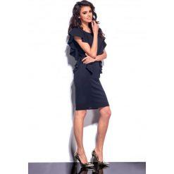 Elegancka sukienka z falbankami czarna JESSICA. Czarne sukienki balowe Lemoniade, z falbankami. Za 99,00 zł.