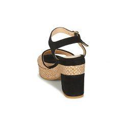 Sandały Metamorf'Ose  CABINE. Czarne sandały damskie Metamorf'Ose. Za 415,20 zł.