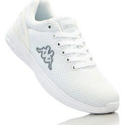 Buty sportowe Kappa bonprix biały. Białe buty sportowe męskie bonprix, na sznurówki. Za 124,99 zł.