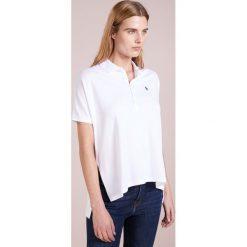 Polo Ralph Lauren Koszulka polo white. Białe bluzki asymetryczne Polo Ralph Lauren, xl, z bawełny, polo. W wyprzedaży za 351,20 zł.