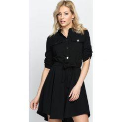 Sukienki hiszpanki: Czarna Sukienka Gracious